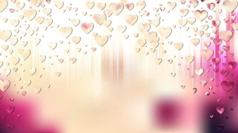 Pink and Beige Valentines Day Background Vector Graphic