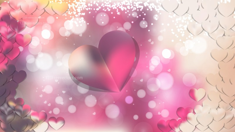 Pink and Beige Romantic Background