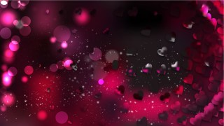 Pink and Black Valentine Background