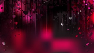 Pink and Black Heart Wallpaper Background