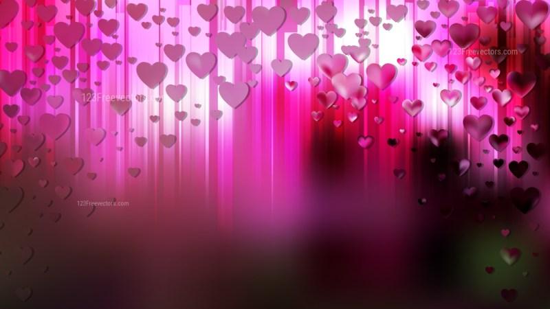 Pink and Black Valentine Background