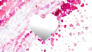 Pink and White Valentines Background