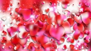 Pink and White Valentine Background