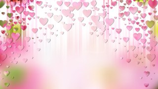 Pink and White Love Background