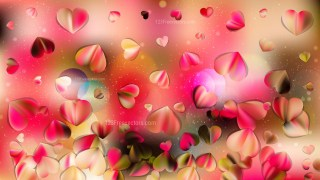 Pink and Yellow Love Background Image