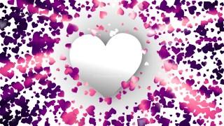 Purple Valentines Background