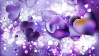 Purple Heart Background Illustrator