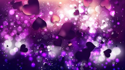 Purple and Black Valentines Background