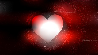 Red and Black Valentines Day Background Design