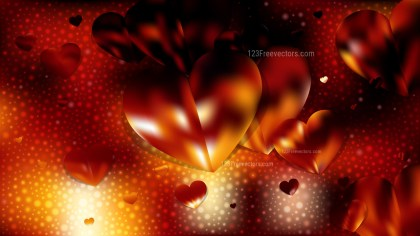 Red and Black Valentine Background Vector