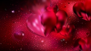 Red and Black Valentines Card Background