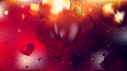 Red and Black Romantic Background