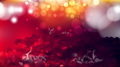 Red and Black Valentines Background Vector Image