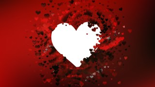Red and Black Valentine Background Graphic