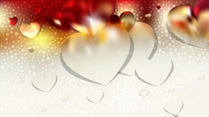 Red and White Valentine Background Illustrator