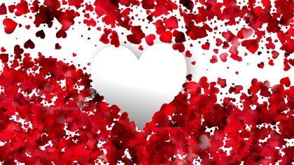 Red and White Romance Background