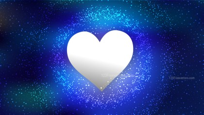 Royal Blue Romantic Background