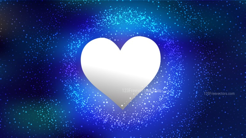 Royal Blue Romantic Background