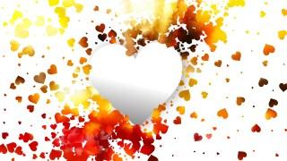 White Valentine Background