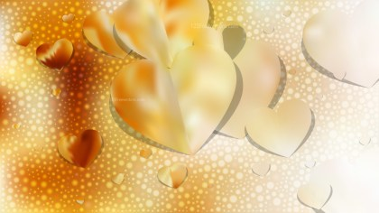 Yellow Love Background Image