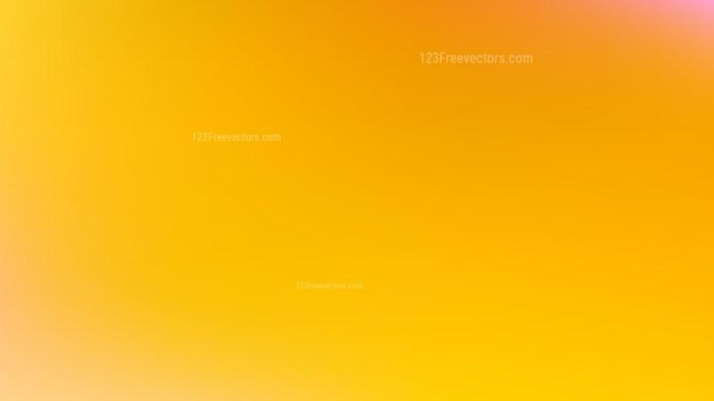 Amber Color Blur Background Vector