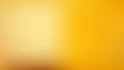Amber Color Presentation Background Design