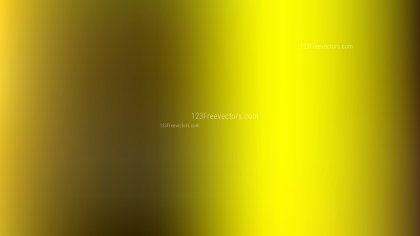 Black and Yellow PowerPoint Presentation Background Vector