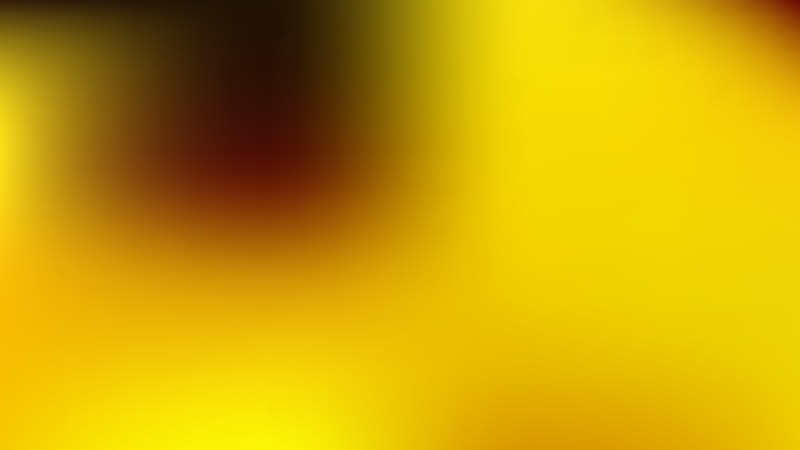 Black and Yellow Gaussian Blur Background Illustration