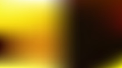 Black and Yellow Blur Photo Wallpaper Design