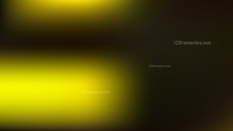 Black and Yellow Blurry Background