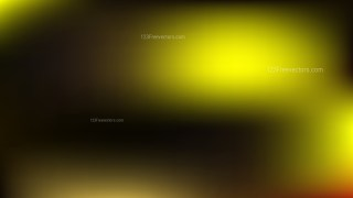 Black and Yellow PowerPoint Background