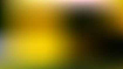 Black and Yellow Blur Background Vector Graphic