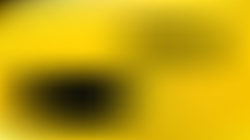 Black and Yellow Blurry Background Vector Image