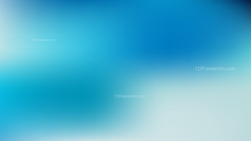 Blue Blurred Background Illustration