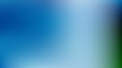 Blue and Green Gaussian Blur Background