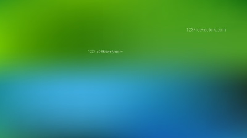 Blue and Green PowerPoint Presentation Background Illustrator