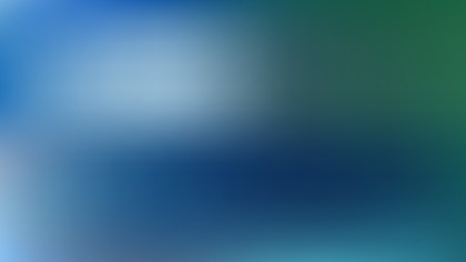 Blue and Green Blur Photo Wallpaper Graphic
