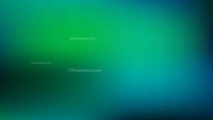 Blue and Green Blurred Background Illustration