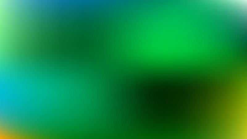 Blue and Green Blur Background Design