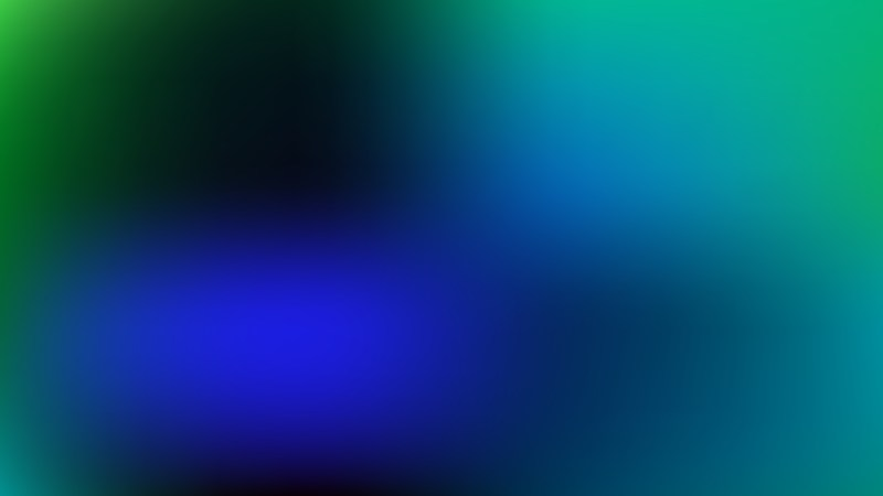 Blue and Green PowerPoint Background Vector Graphic