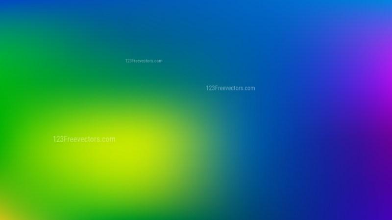 Blue and Green Presentation Background Illustrator