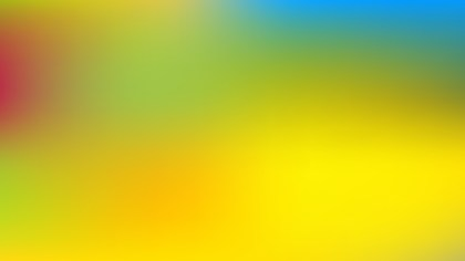 Blue and Yellow Business PowerPoint Background