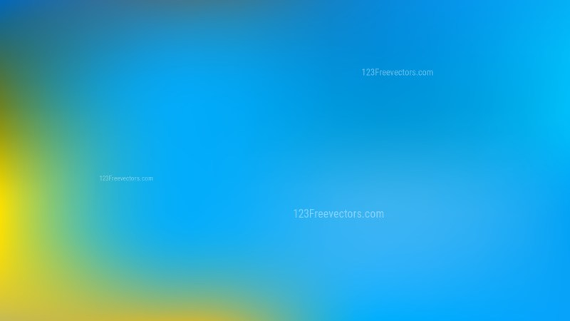 Blue and Yellow Business PPT Background