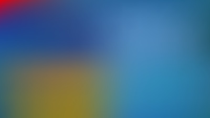 Blue and Yellow Corporate PowerPoint Background