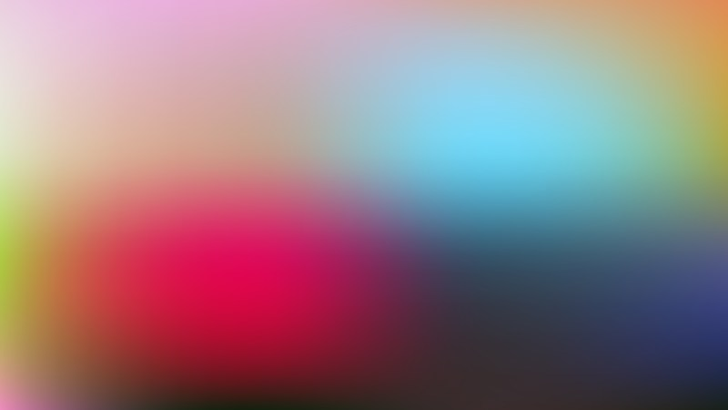 Colorful Photo Blurred Background