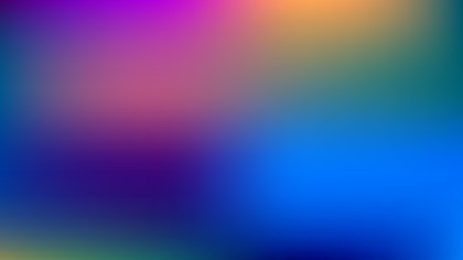 Colorful Blurred Background Vector Art