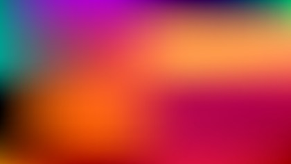 Colorful Blurred Background Vector Illustration