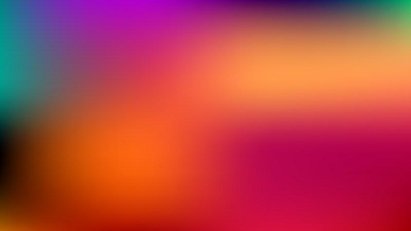 Colorful Blurred Background Vector Illustration