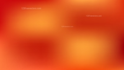 Red and Orange Blur Background