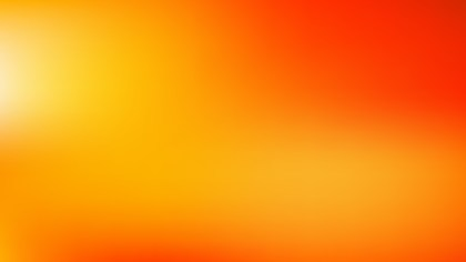 Red and Orange Blurry Background Vector Illustration